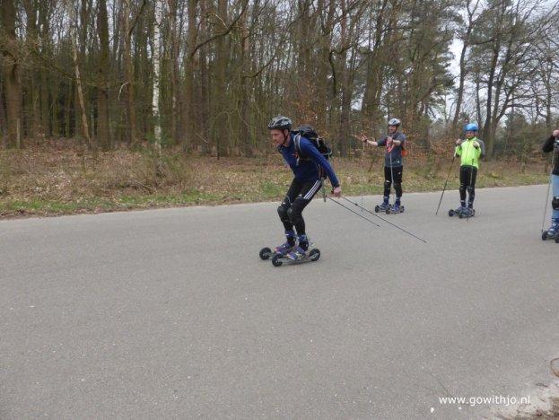 Dagcursus cross skaten Harderwijk/Ermelo